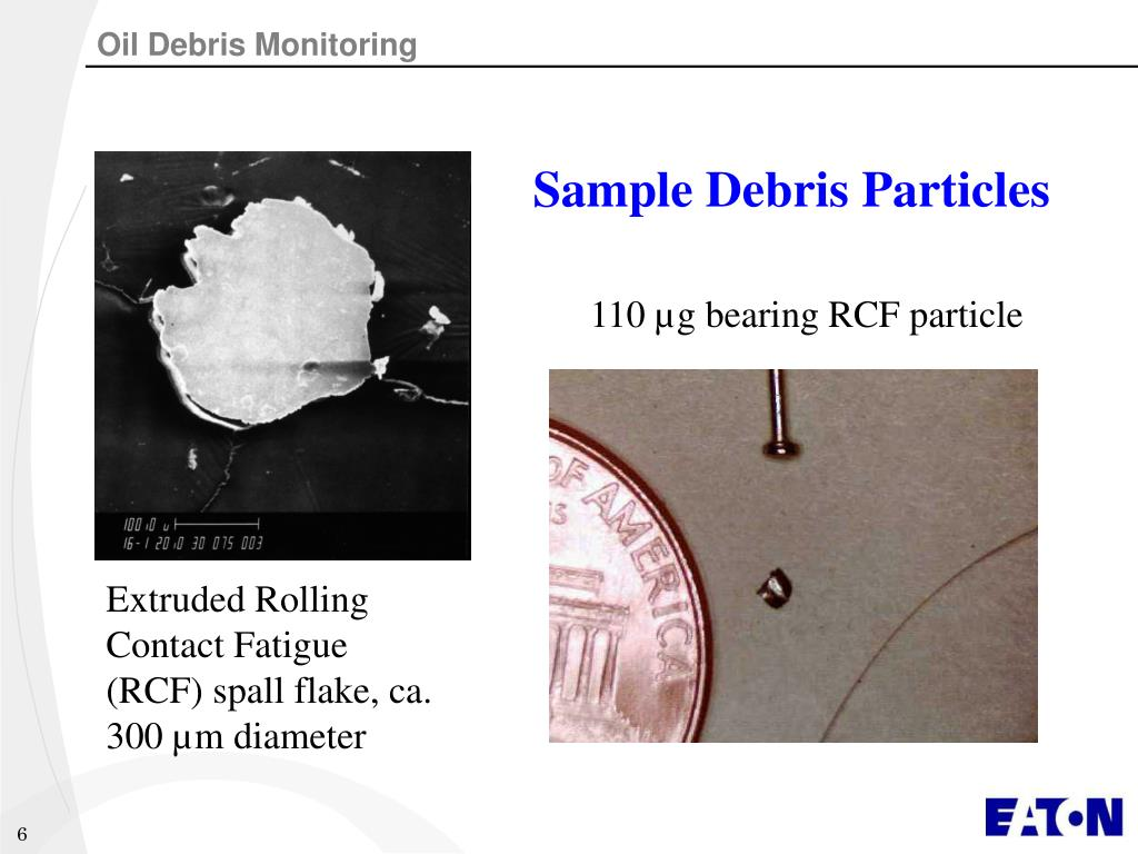 Sample Debris Particles