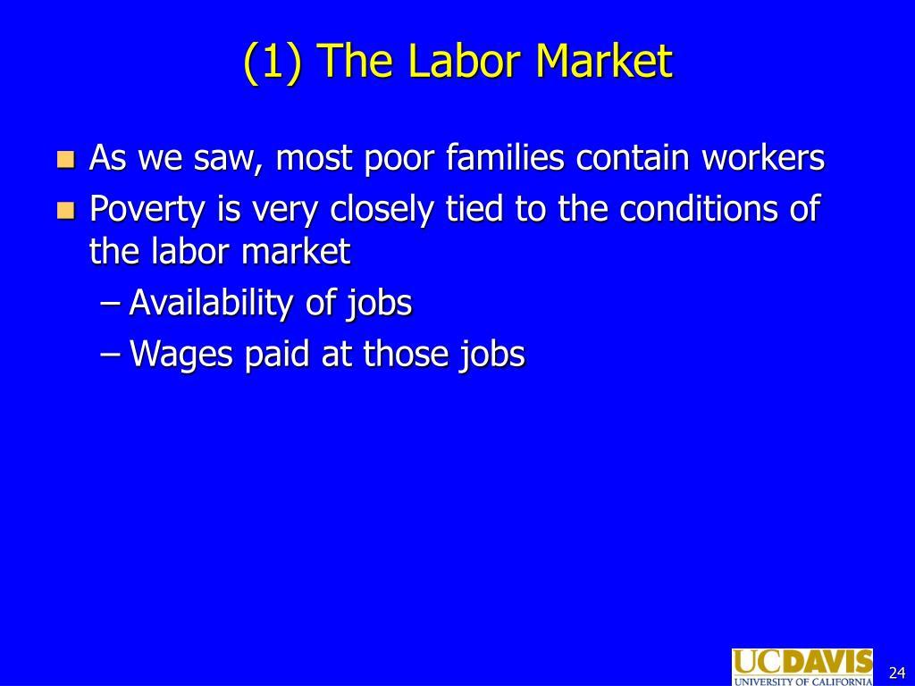 (1) The Labor Market
