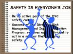 safety is everyone s job10