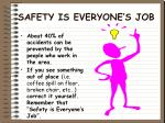 safety is everyone s job7