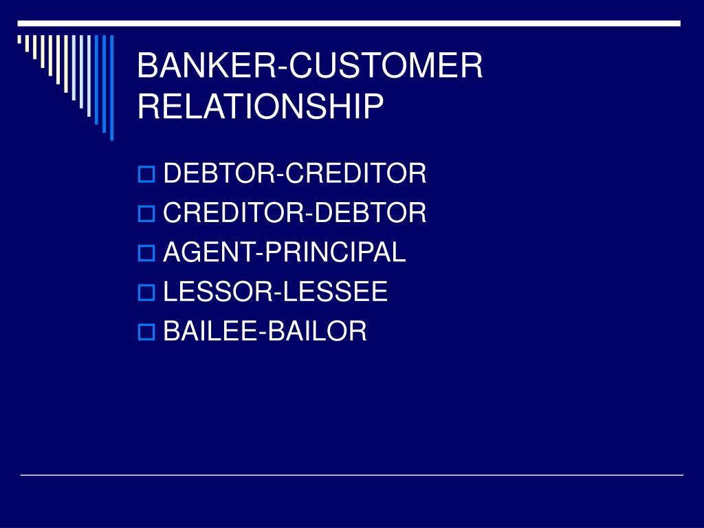 BANKER-CUSTOMER
