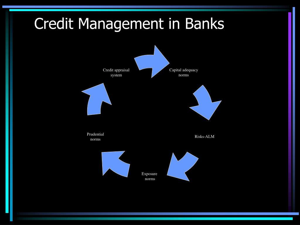 Credit Management in Banks