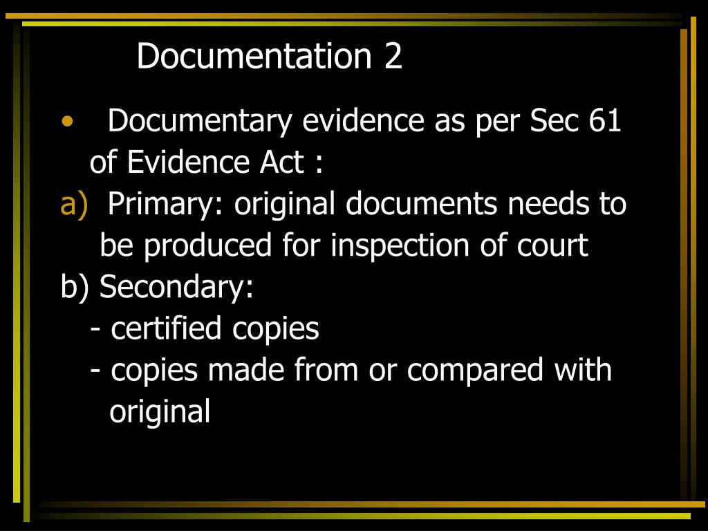 Documentation 2