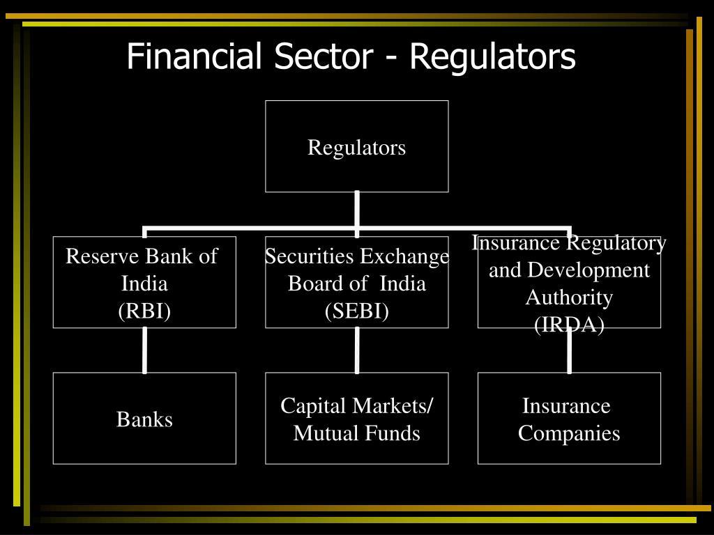 Financial Sector - Regulators