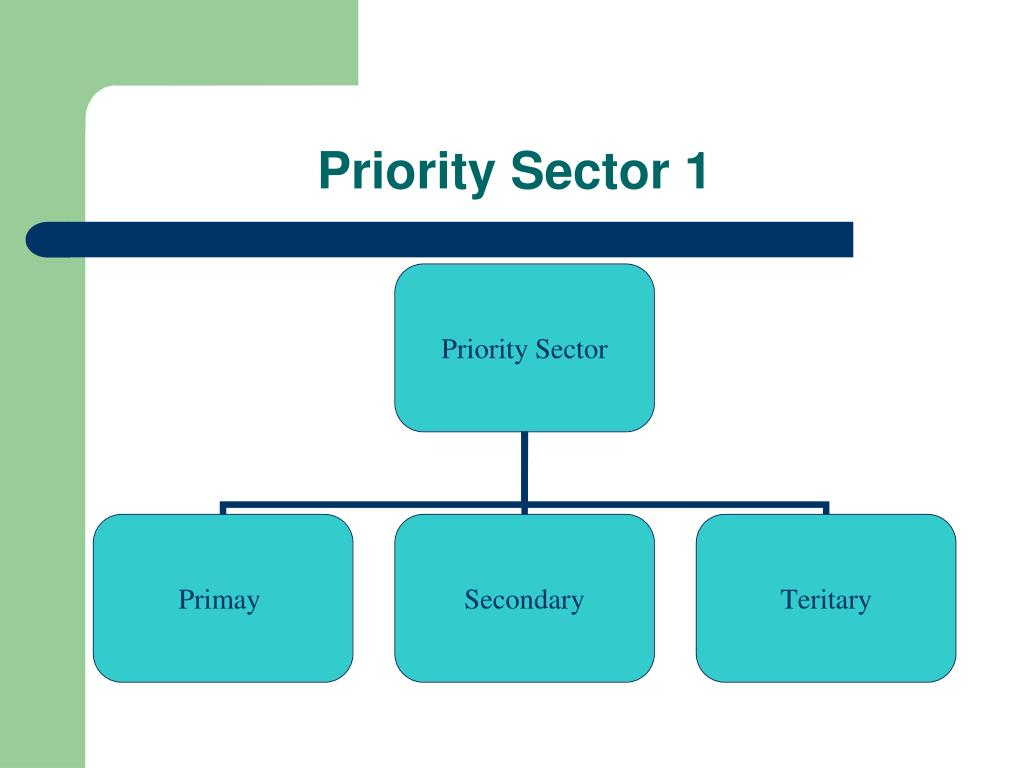 Priority Sector 1
