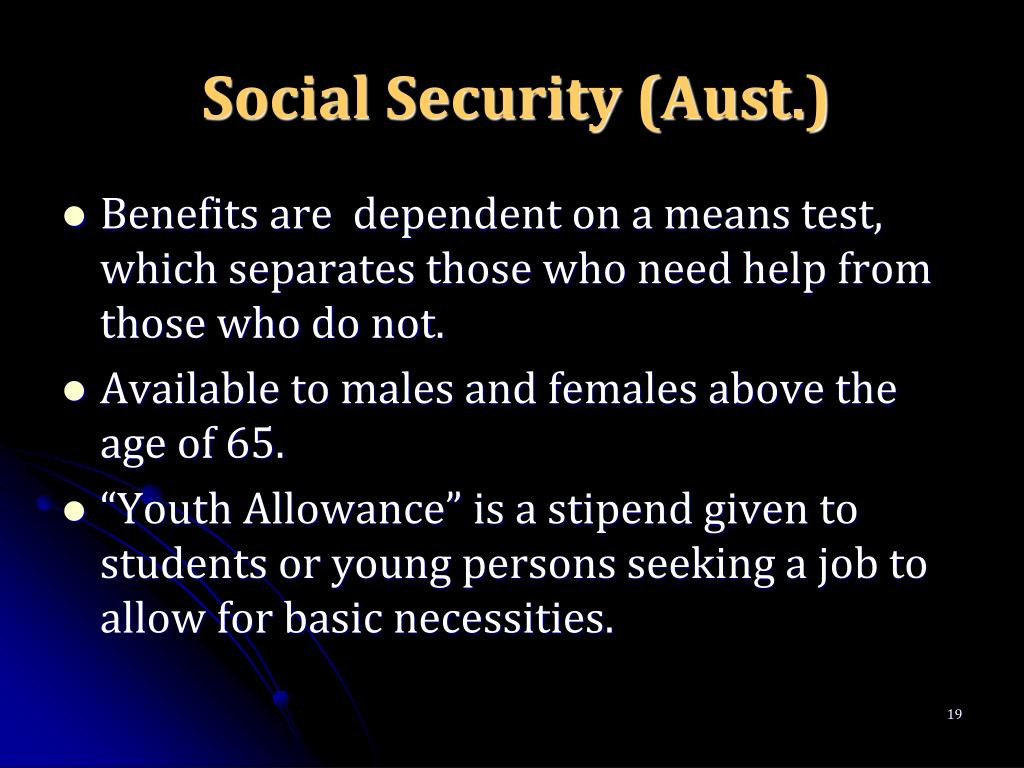 Social Security (Aust.)