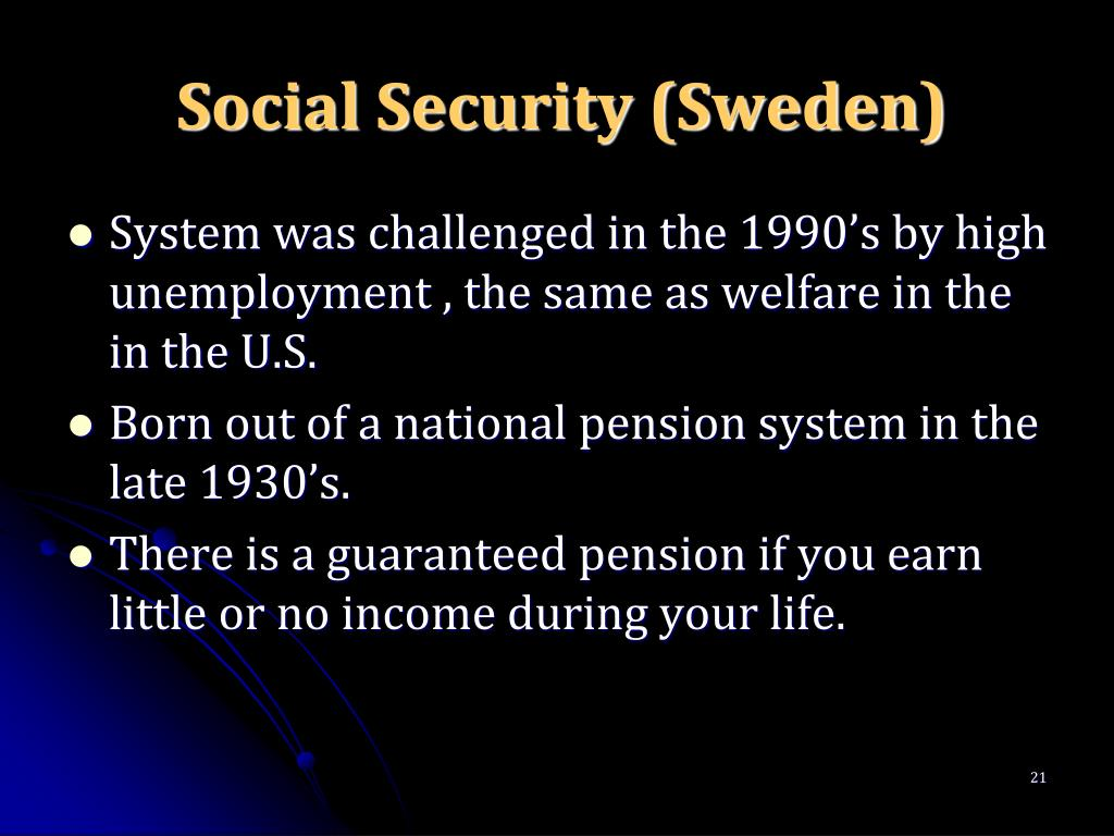 Social Security (Sweden)