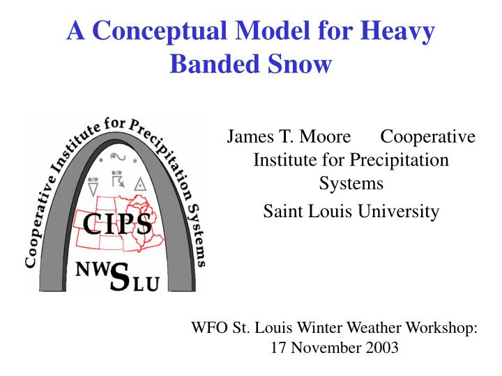 a conceptual model for heavy banded snow