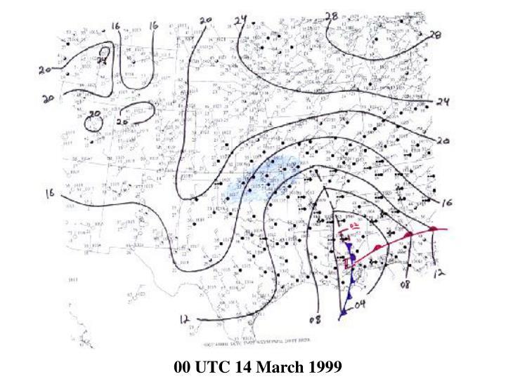 00 UTC 14 March 1999
