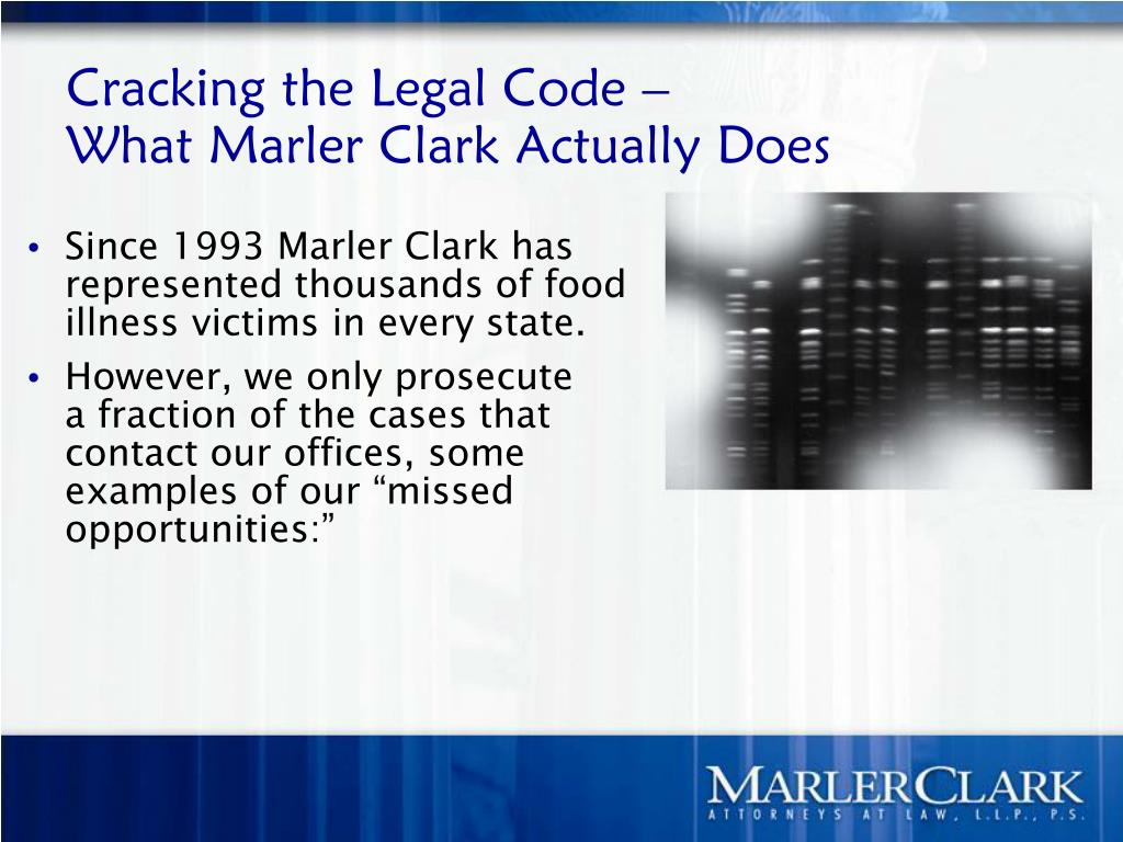 Cracking the Legal Code –