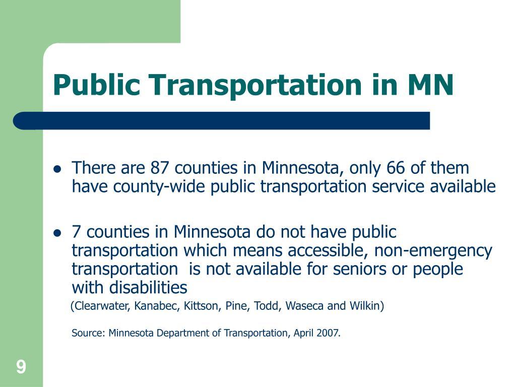 Public Transportation in MN