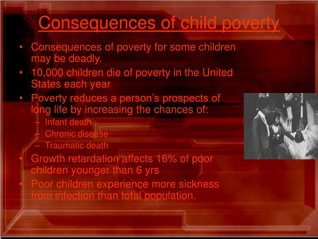 Consequences of child poverty
