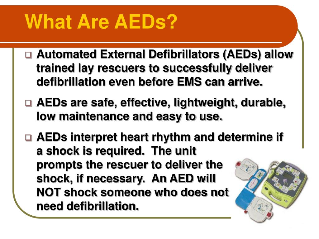 What Are AEDs?