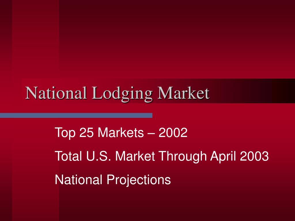 National Lodging Market