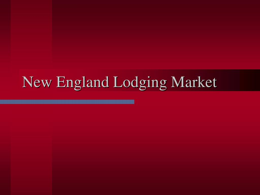 New England Lodging Market
