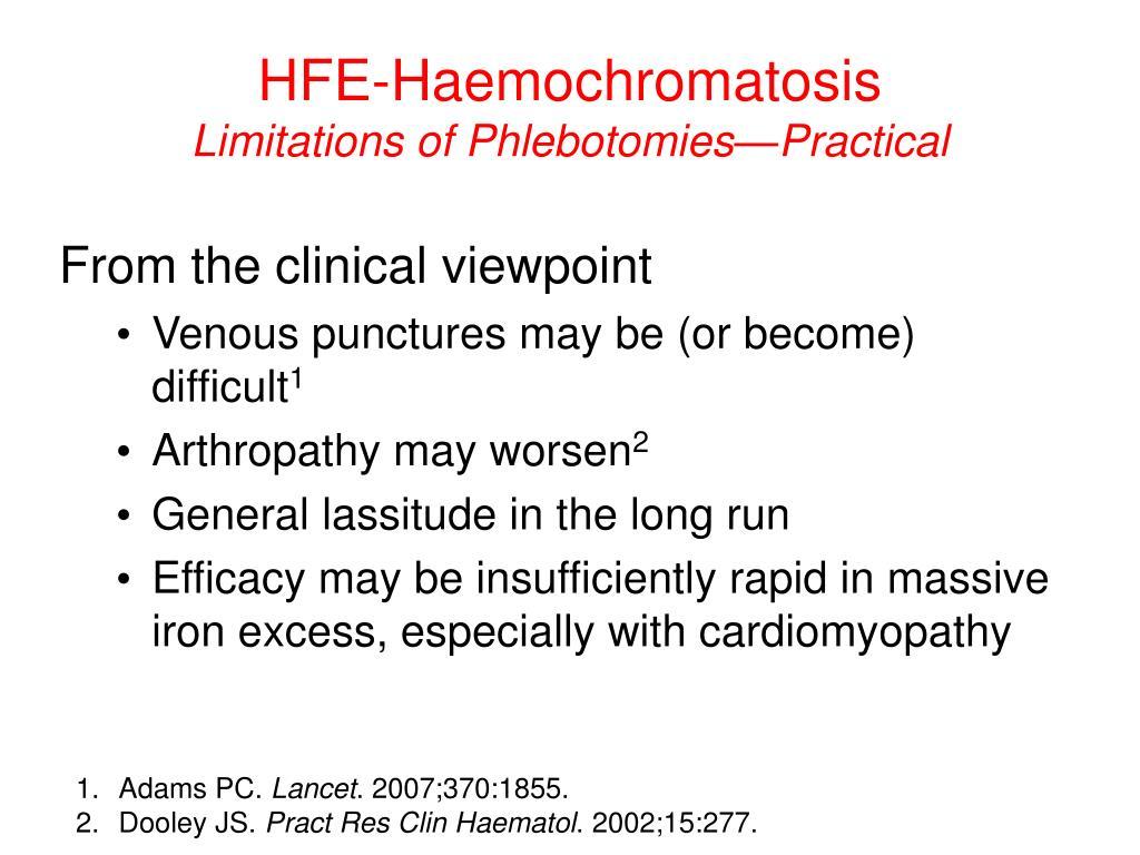 HFE-Haemochromatosis