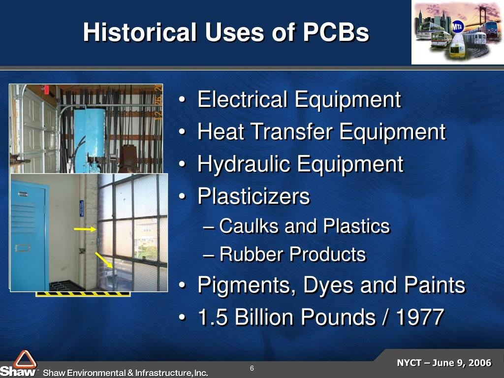 Historical Uses of PCBs