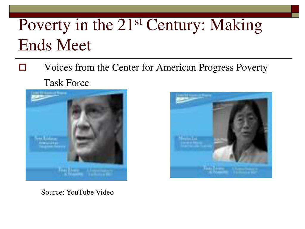 Poverty in the 21