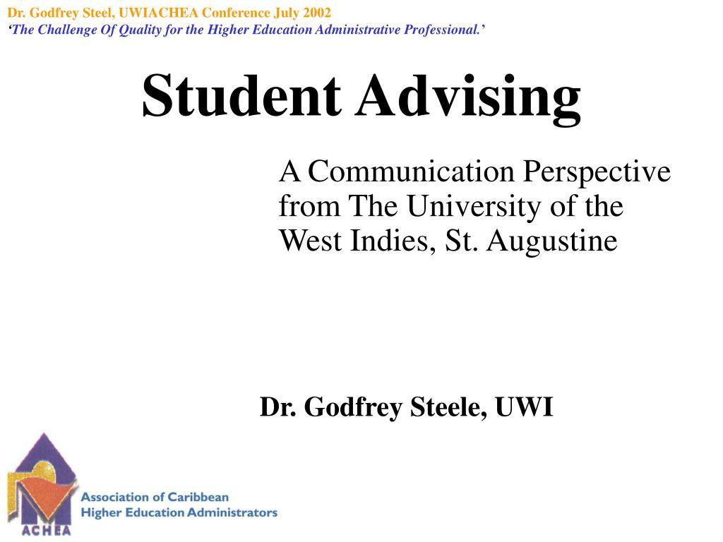 student advising