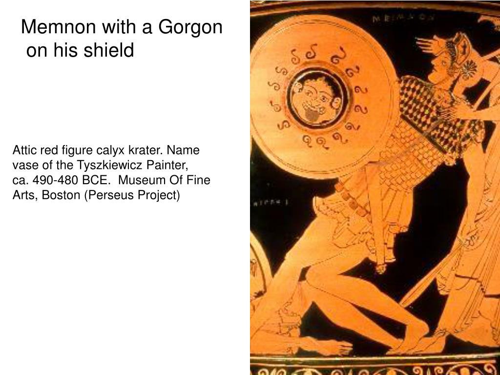 Memnon with a Gorgon