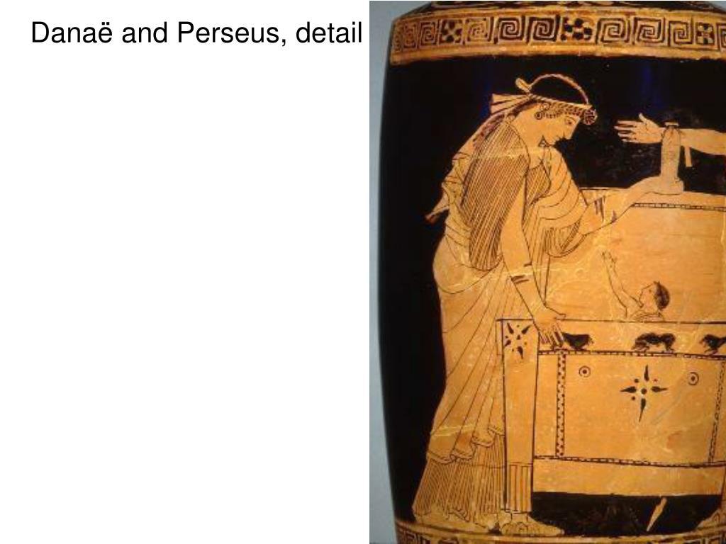 Danaë and Perseus, detail