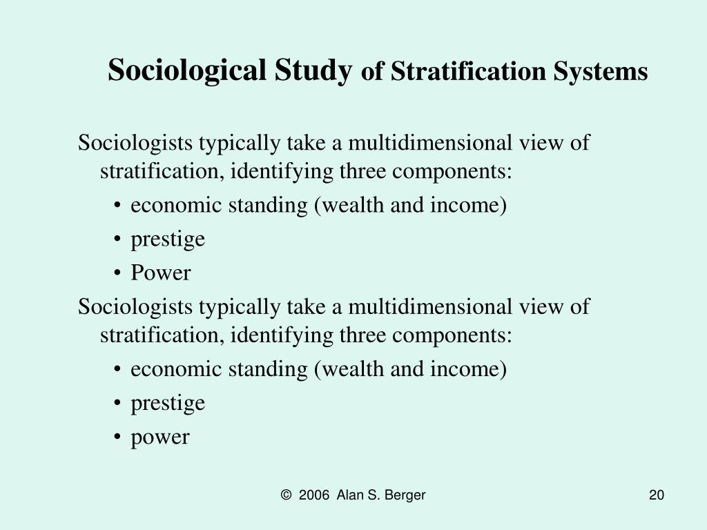 Sociological Study