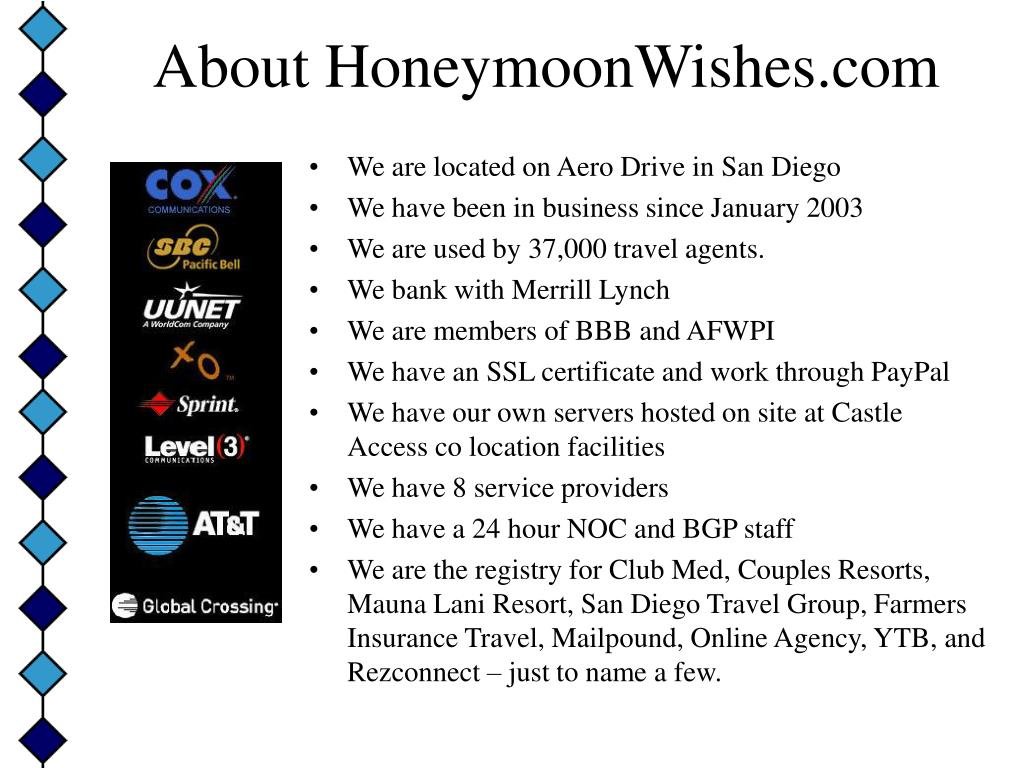 About HoneymoonWishes.com
