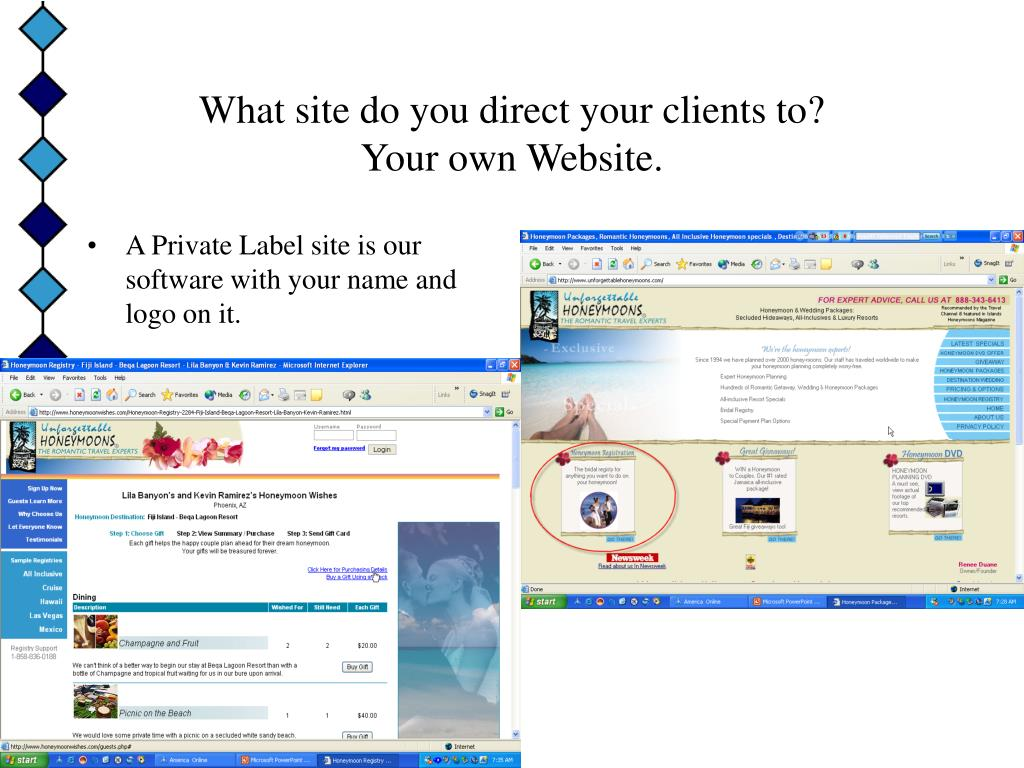 What site do you direct your clients to?