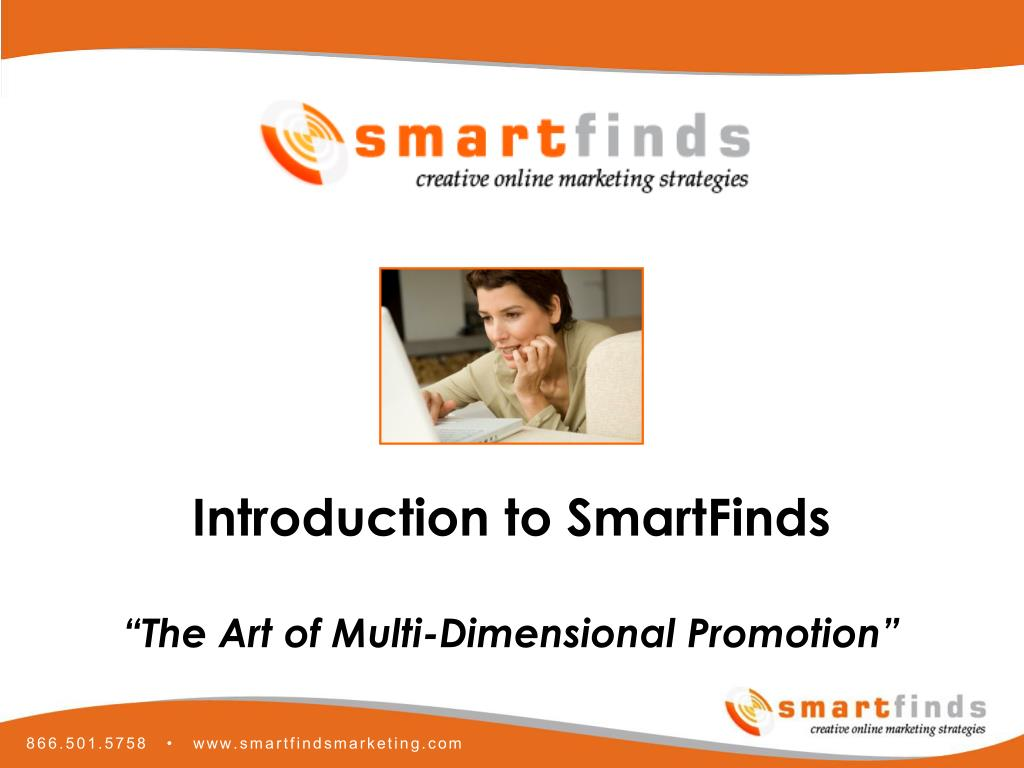 Introduction to SmartFinds