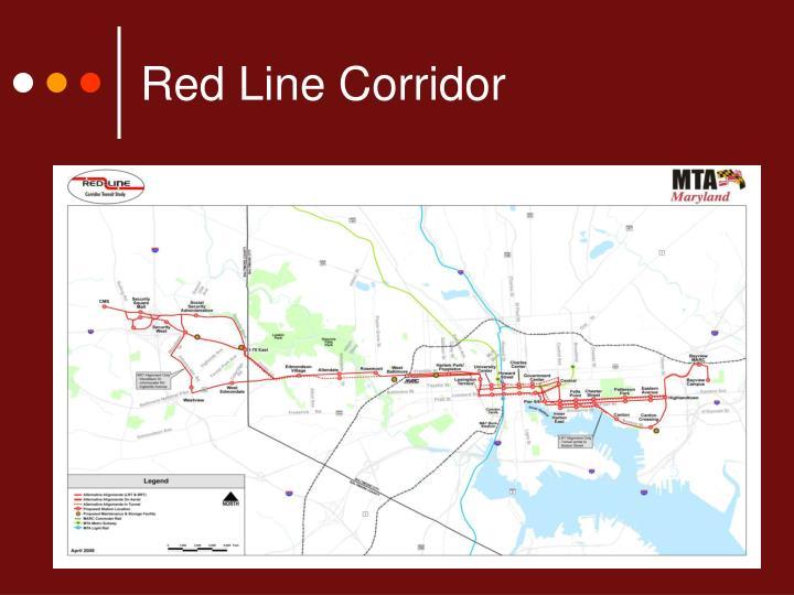 Red Line Corridor