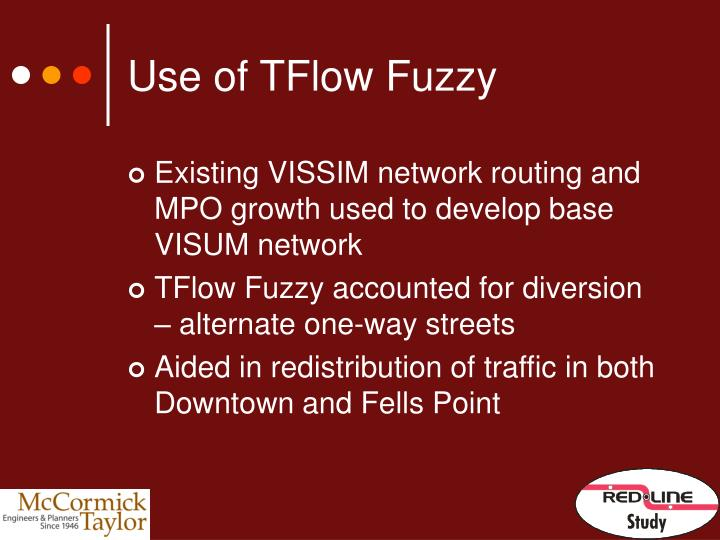 Use of TFlow Fuzzy