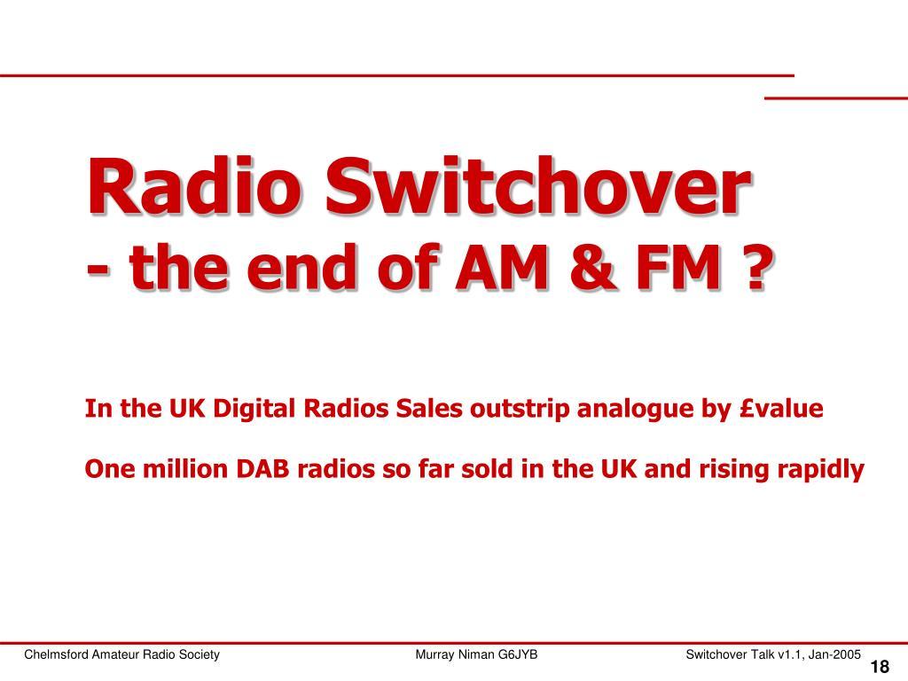 Radio Switchover