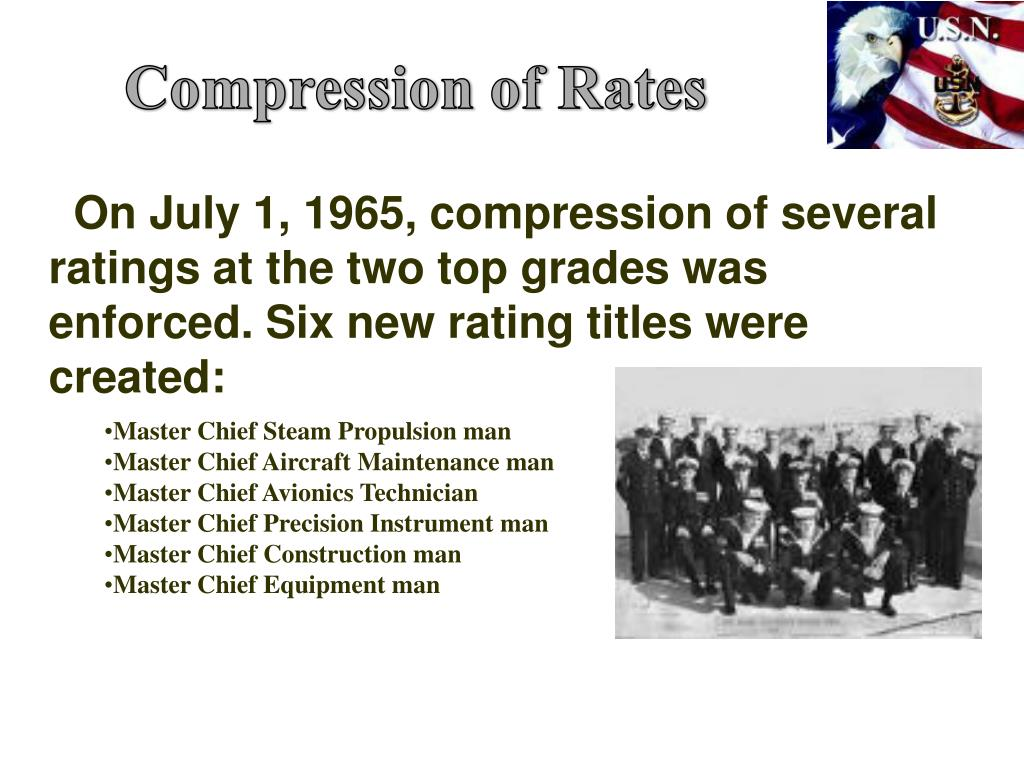 Compression of Rates
