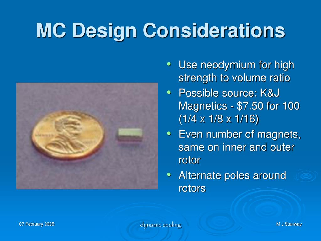 MC Design Considerations