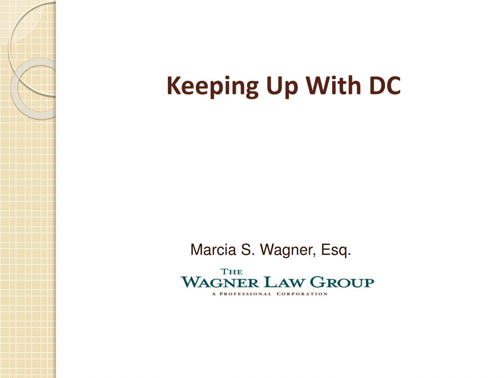 Keeping Up With DC
