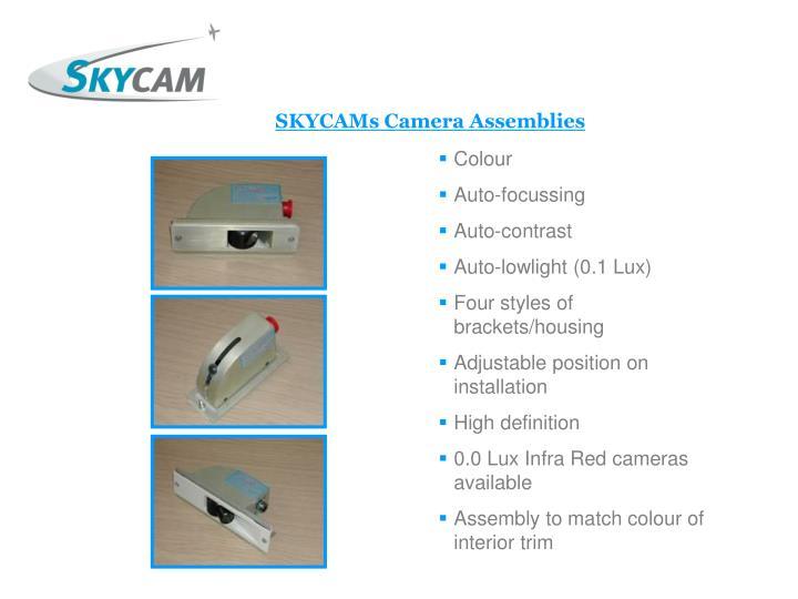 SKYCAMs Camera Assemblies