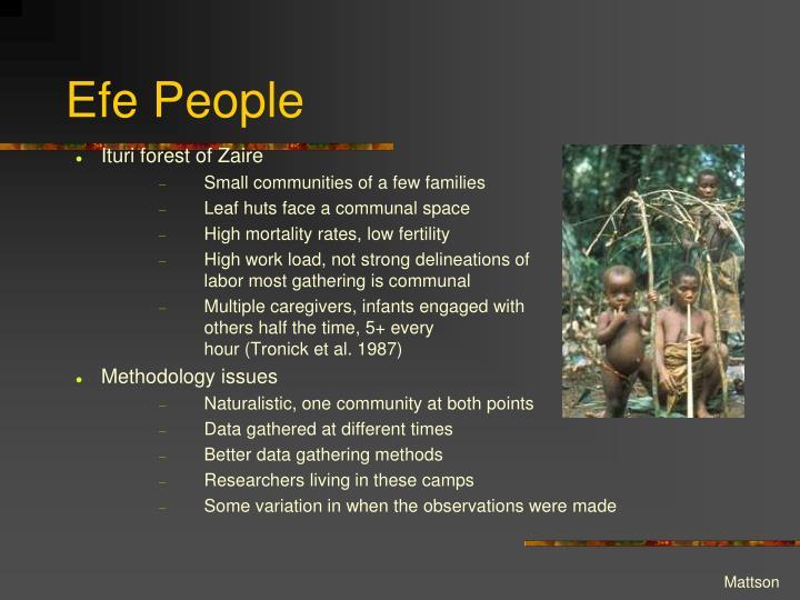 Efe People