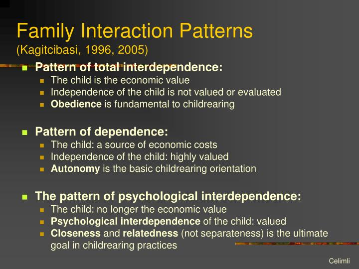 Family Interaction Patterns