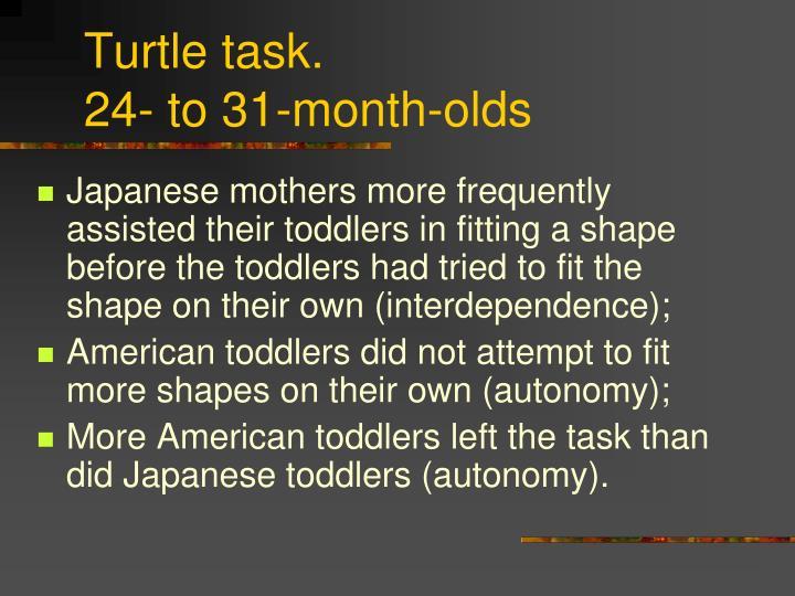 Turtle task.