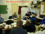 the management system