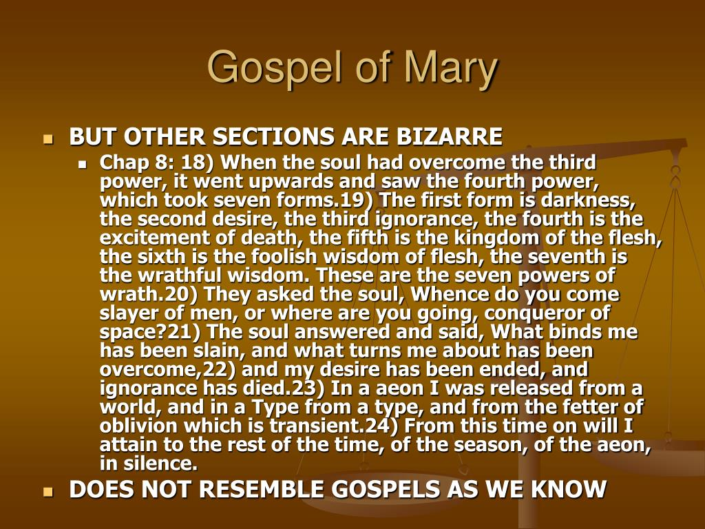 Gospel of Mary