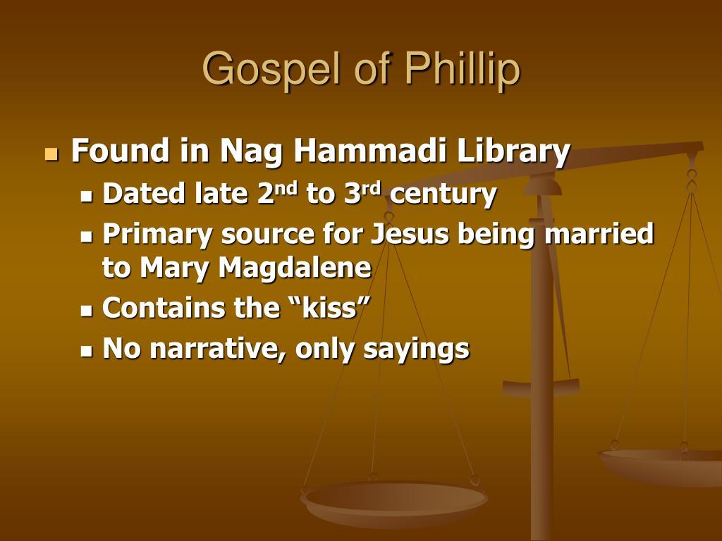 Gospel of Phillip