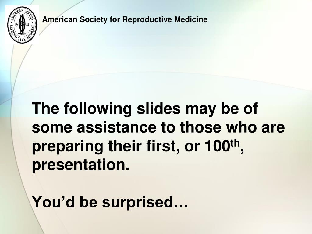 The following slides may be of some assistance to those who are preparing their first, or 100