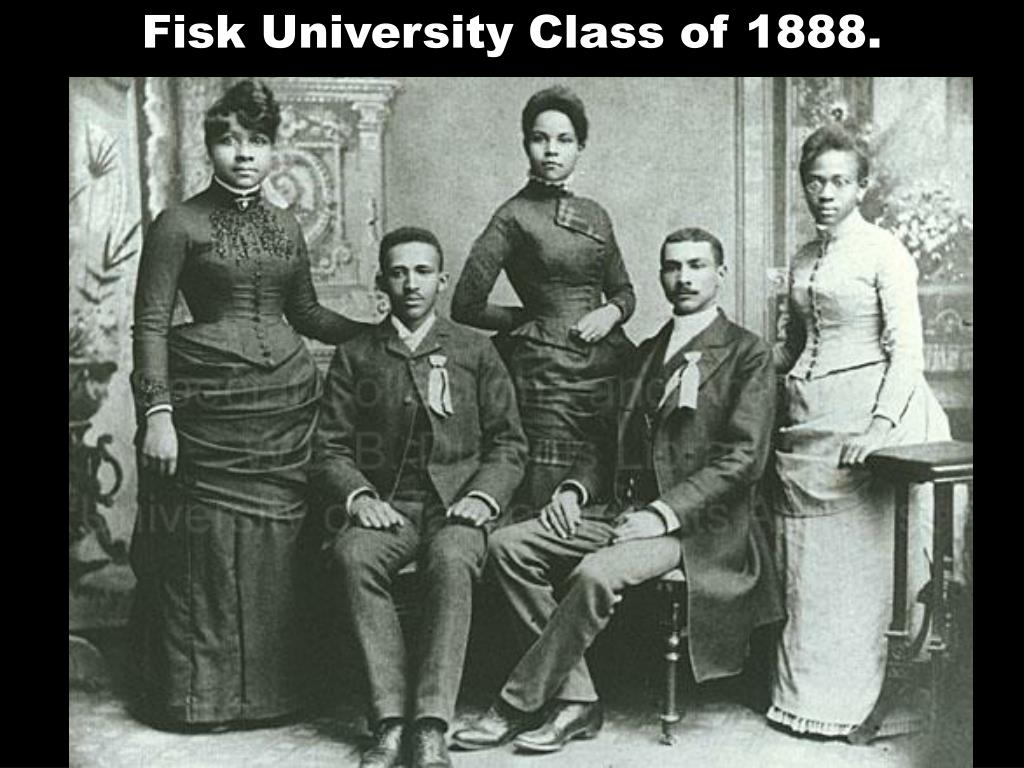 Fisk University Class of 1888.