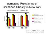 increasing prevalence of childhood obesity in new york