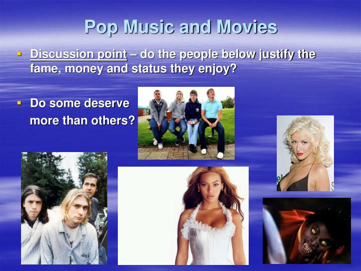 Pop music and movies2