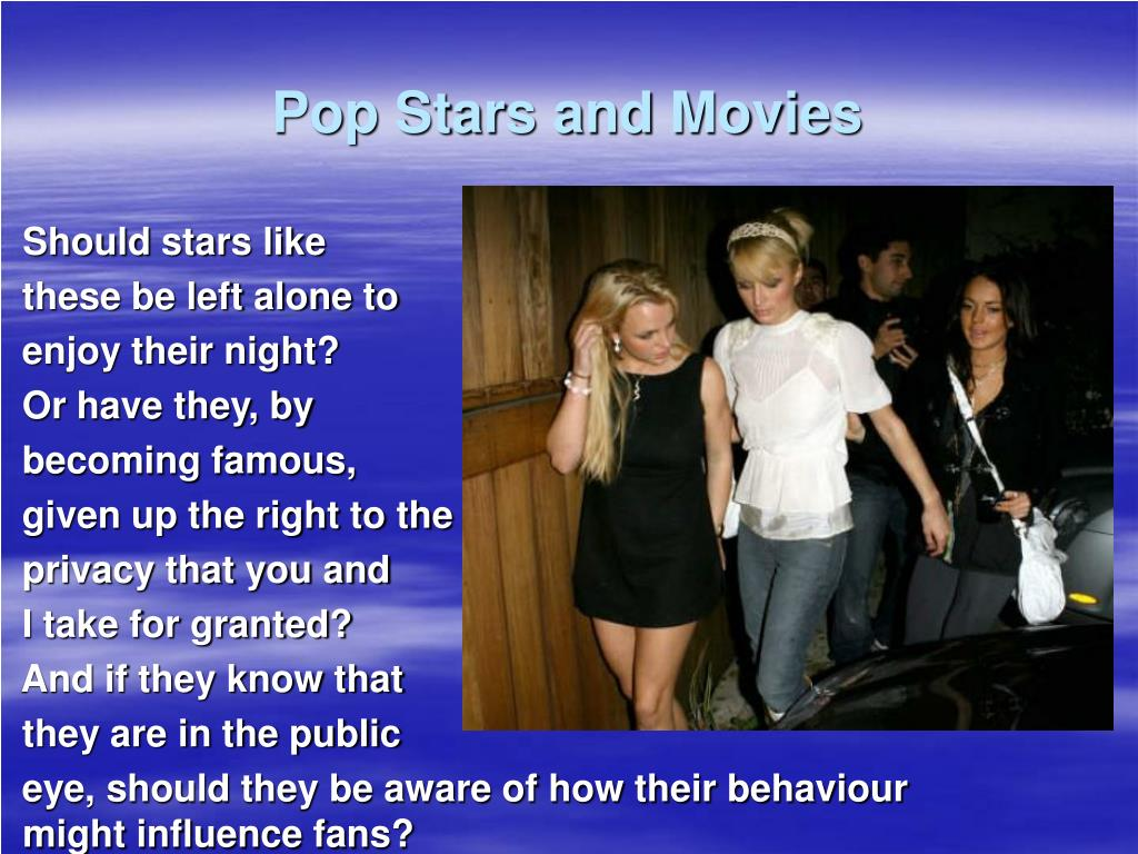 Pop Stars and Movies