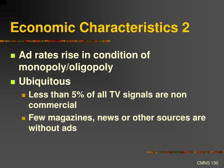 Economic Characteristics 2