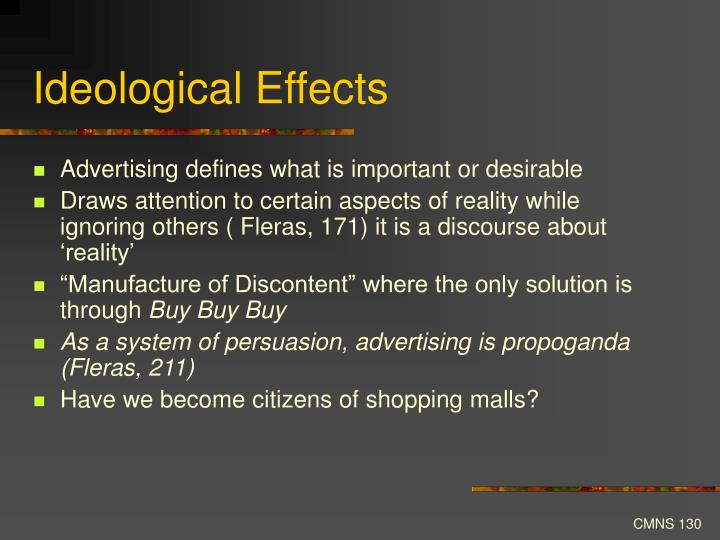 Ideological Effects
