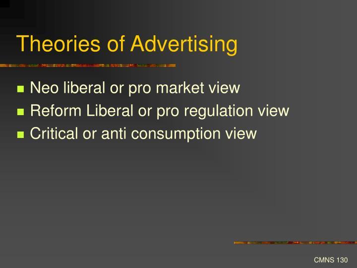 Theories of Advertising